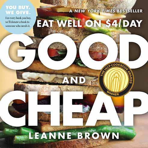 AND LEANNE BROWN EAT WELL ON $4/DAY