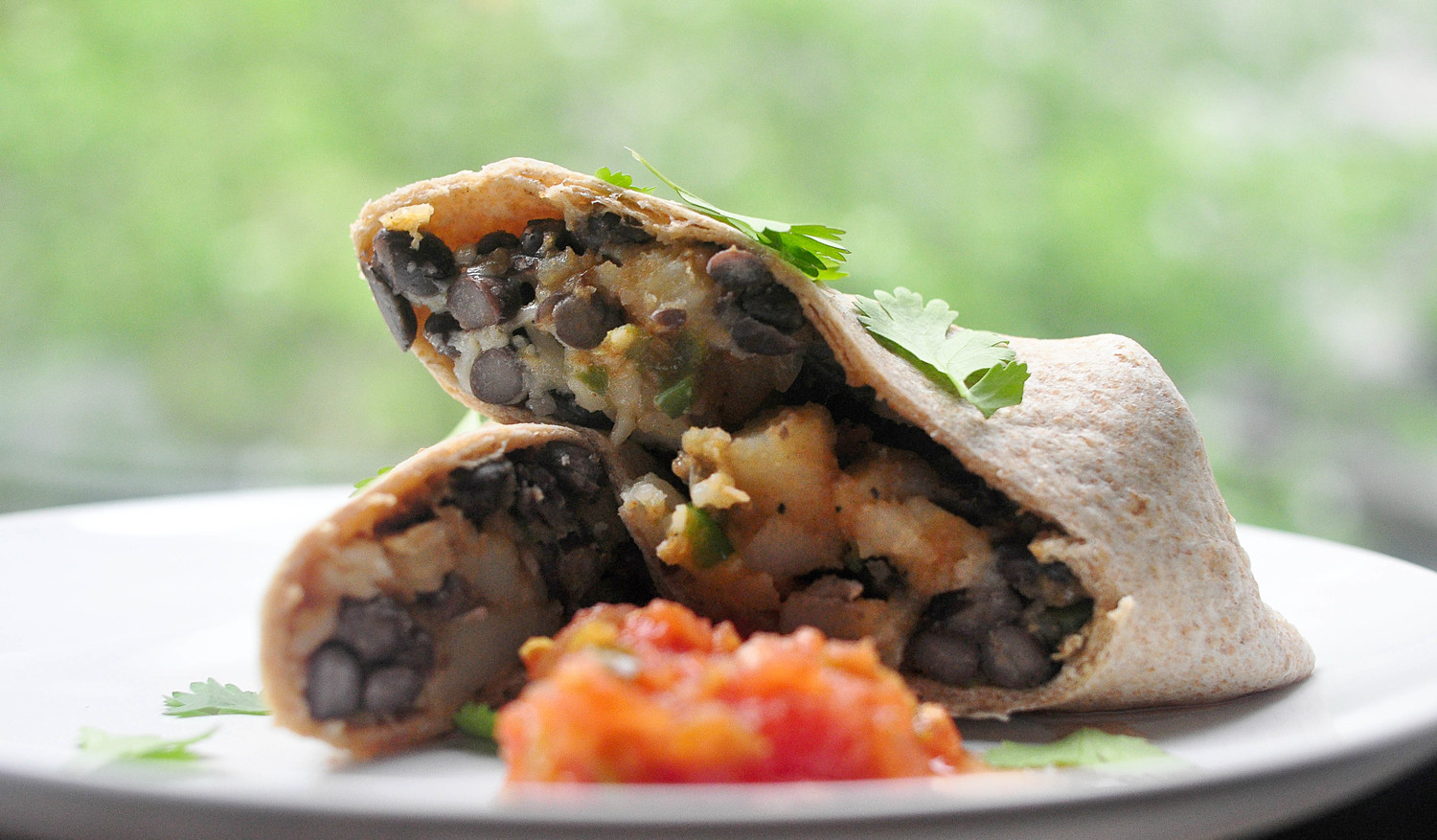Potato, Jalapeño and Black Bean Burritos Recipe | Leanne Brown