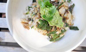 green whitefish burrito bowl