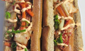 kimchi-hot-dogs