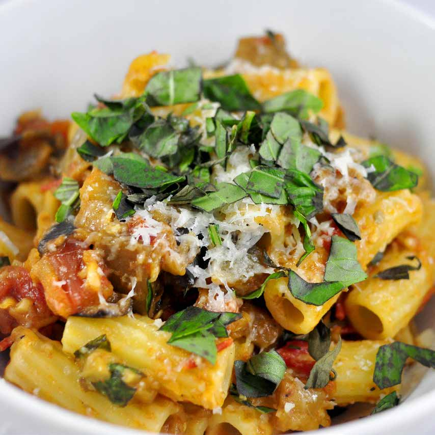 Pasta With Eggplant And Tomato Leanne Brown